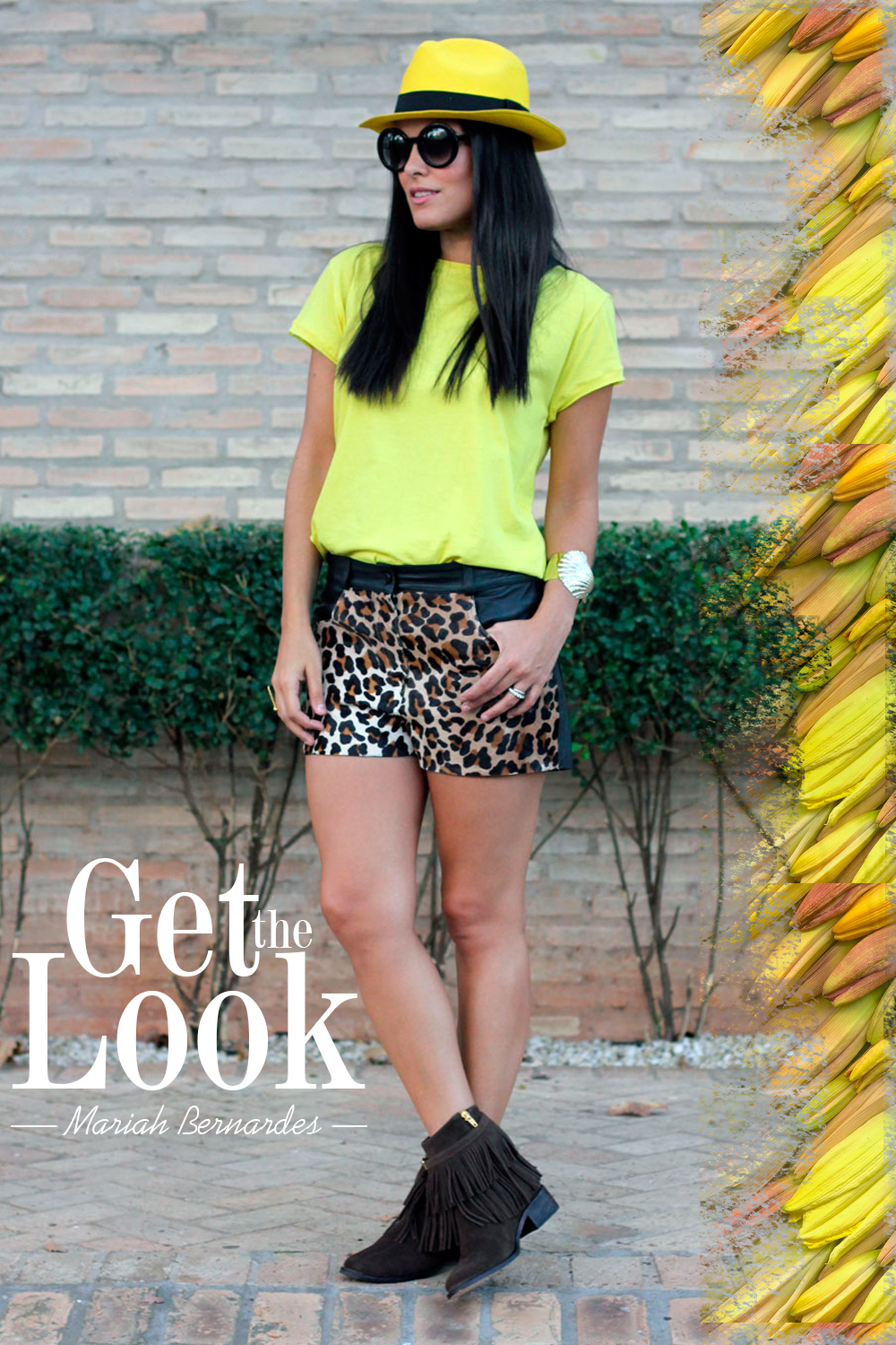 Get the look | Mariah Bernardes | Doce Trama